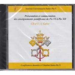 CD ENSEIGNEMENTS PONTIFICAUX